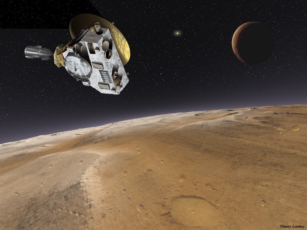The New Horizons spacecraft will fly past Pluto