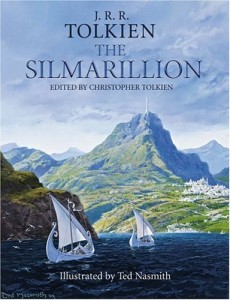 The Simarillion conveys the legendarium of J.R.R. Tolkien