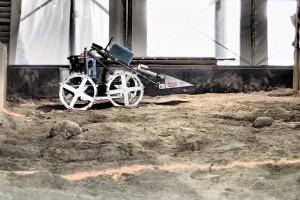 Kent State University's Mars mining robot