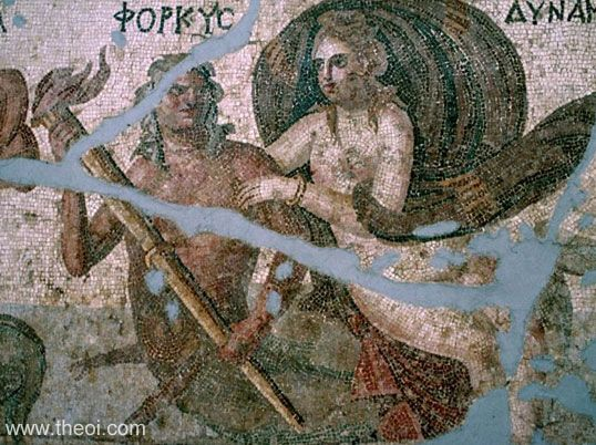 In Greek mythology, Phorcys ruled over the hidden dangers in the ocean.