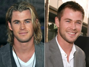 Chris Hemsworth as Thor is a comet, as George Kirk he is an asteroid.